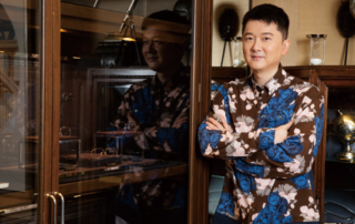 gafencu magazine people interview Far Sighted Jeffery Yau, visionary founder of Puyi Optical, celebrates the brand's 20th anniversary cover