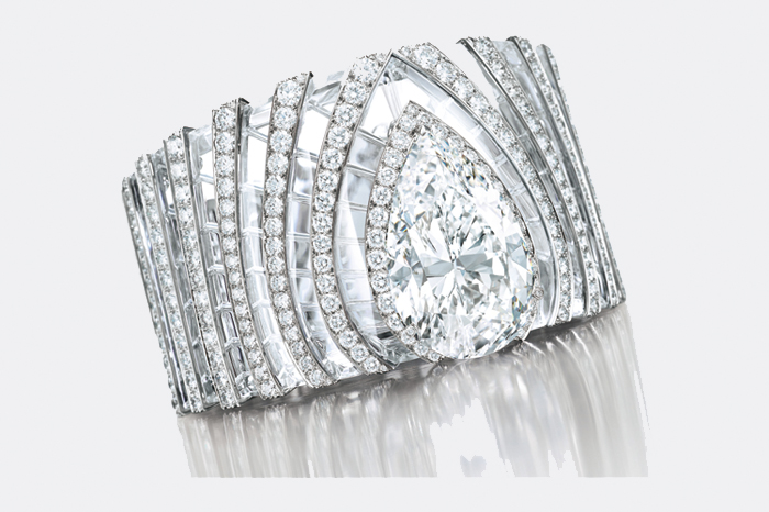 gafencu Auction Highlights The most desirable and highest commanding collectible items to go under the hammer cartier Diamond and Rock Crystal Bangle-Bracelet