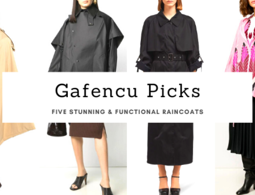 Five stunning and functional raincoats to stock your closet with this rainy season