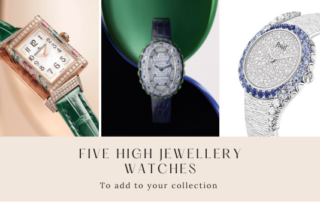gafencu magazine luxury lifestyle Five show-stopping high jewellery watches to add to your collection