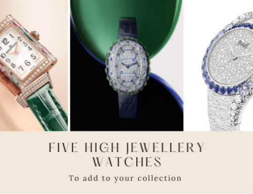 Wrist Candy: Five dazzling high jewellery watches to add to your collection