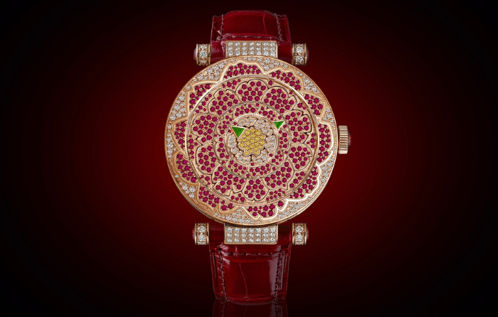 gafencu magazine luxury lifestyle Five show-stopping high jewellery watches to add to your collection fank muhller double mystery peony