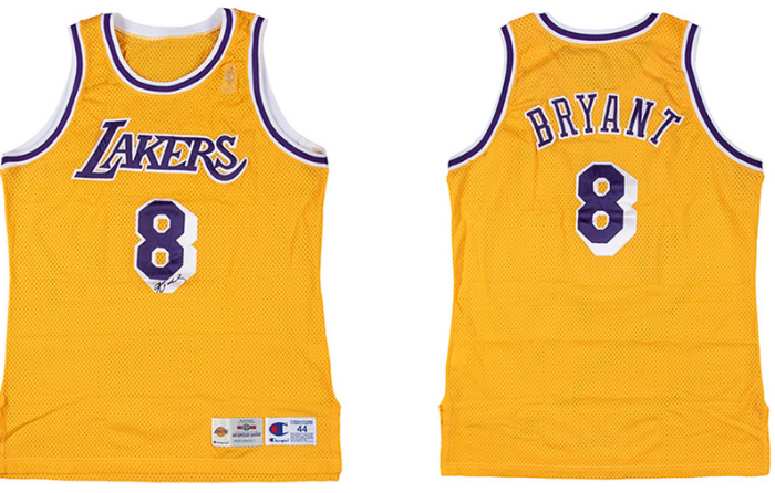 gafencu auction highlights rare collectibles the sakura ring kobe bryant's rookie jersey