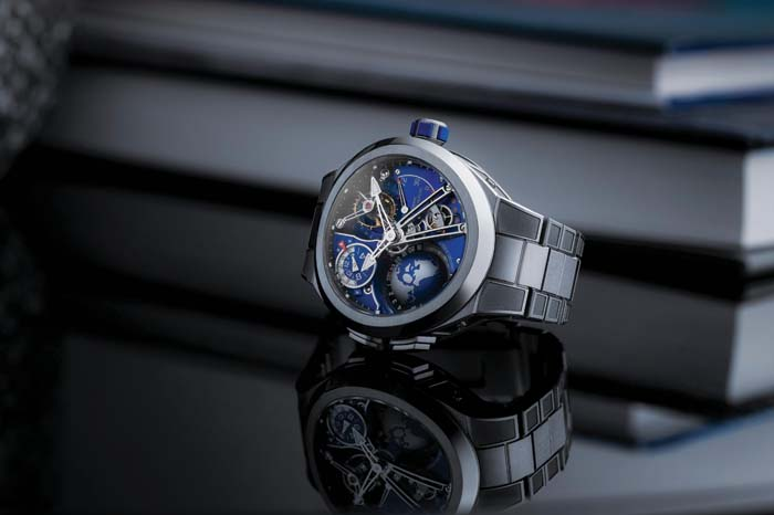 gafencu watches unusually shaped watches avant garde timepieces Greubel Forsey GMT Sport