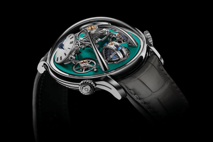gafencu watches unusually shaped watches avant garde timepieces Purnell Escape II Absolute Sapphire