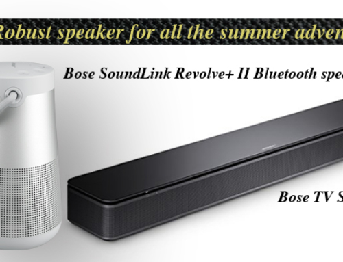 Bose's robust speakers for all the summer adventures