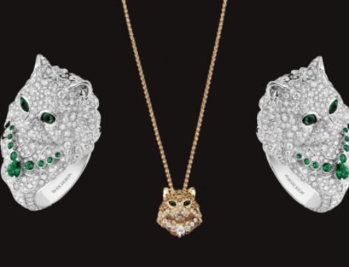 Boucheron's magestic Wladimir Le Chat takes centre stage