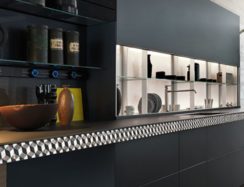 Genius Loci: Innovatively customisable kitchen drawers by Valcucine