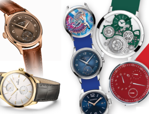 Slimmed down luxury: Exquisite, ultra-thin timepieces